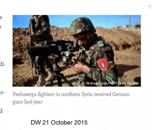 germany-sent-weapons-to-syria