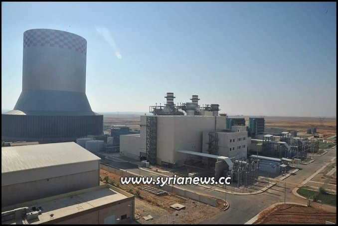 Der Ali Electric Power Station Damascus Countryside