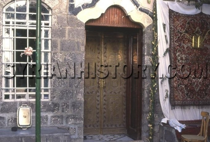 Franj Synagogue in Damascus, credit Syrian History
