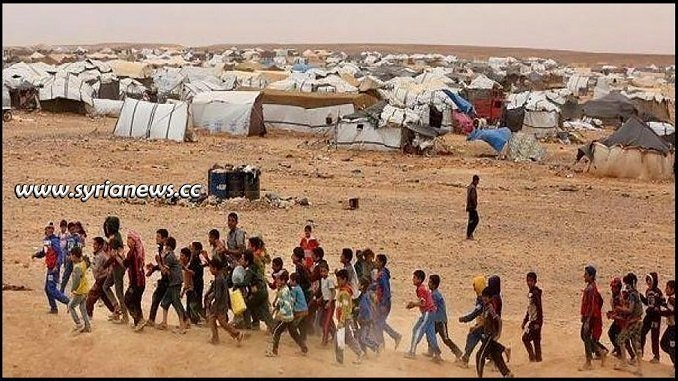 Syrian families suffering at Rukban Concentration Camp run by US occupation forces