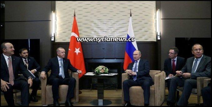 Putin meets Erdogan in Sochi