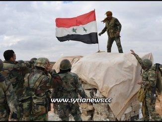 SAA Syrian Arab Army reach Turkish borders secure villages - File Photo