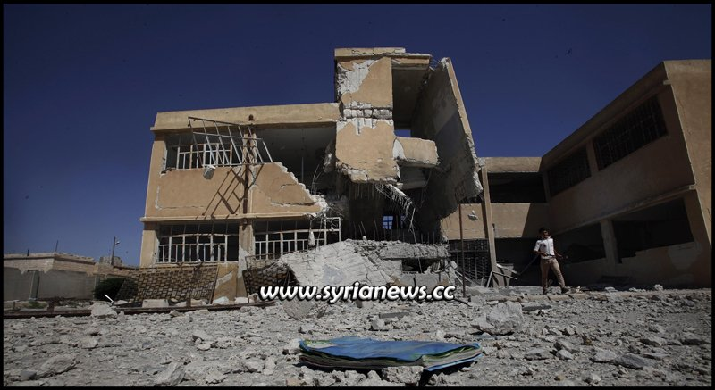 Syria schools destroyed by NATO terrorists