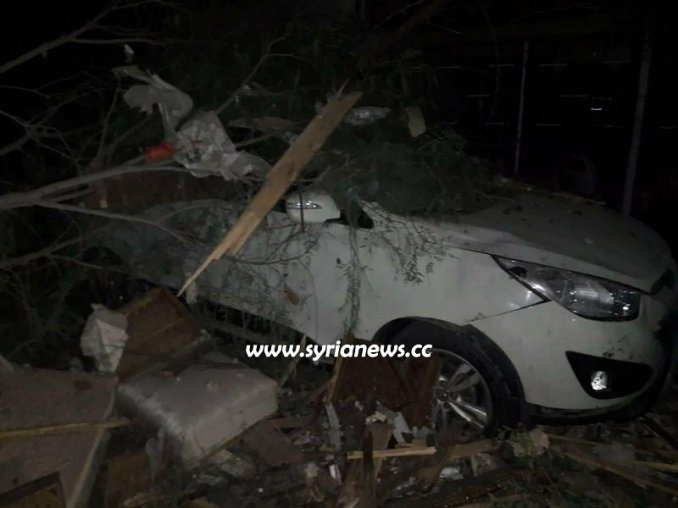 bombing in Damascus Mazzeh November 12 -2019