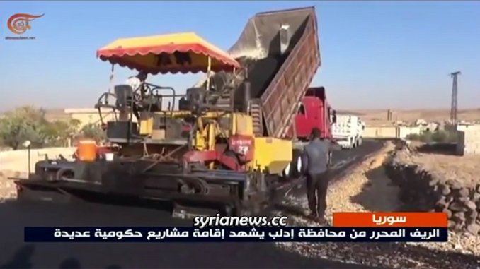 Residents returning to their liberated villages in Idlib countryside