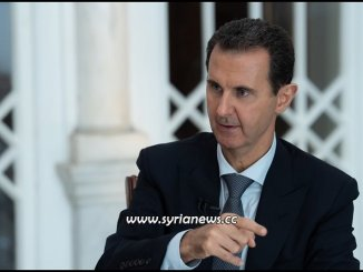 Syrian President Bashar Al Assad interview 31 October 2019