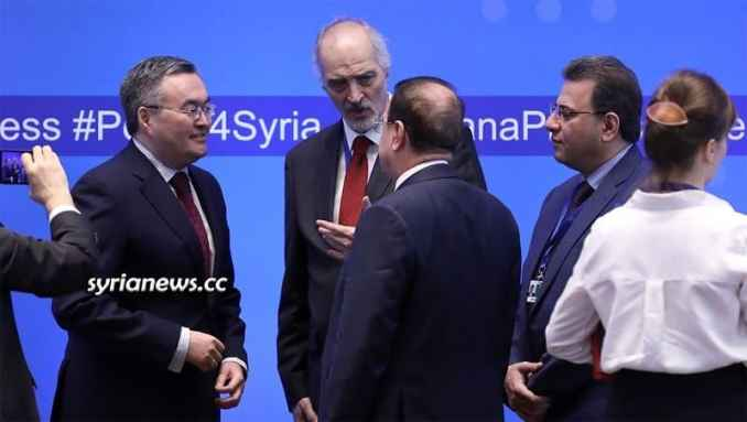 Bashar Jaafari Astana talks on Syria