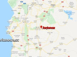 Jarjanaz Map - Idlib countryside