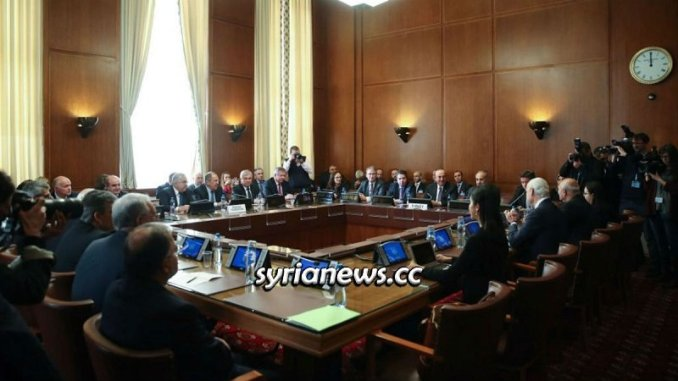 Syrian constitution discussion committee meeting - Geneva