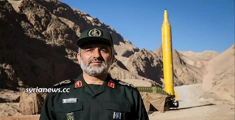 Iranian IRGC Missile - Yellow Iranian missile