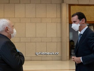 President Bashar Assad Receives Iranian Foreign Minister Javad Zarif in Damascus