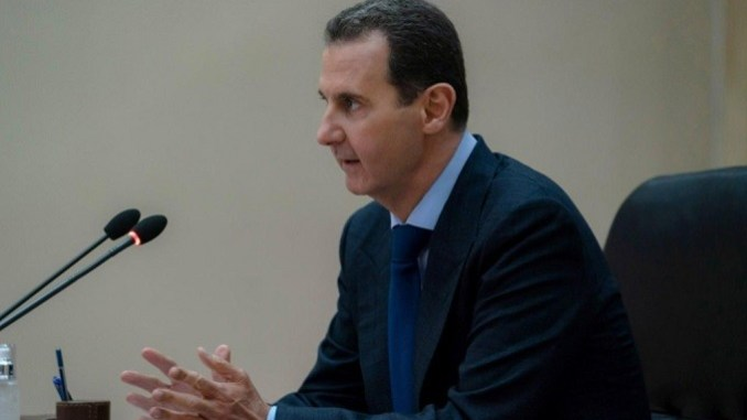 Syrian President Dr. Bashar Assad chaired COVID-19 Confrontation Team Meeting