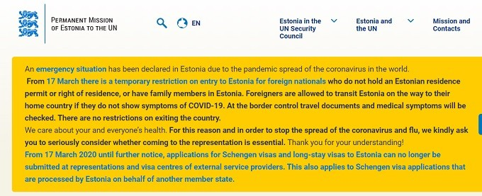 estonia-on-lockdown COVID