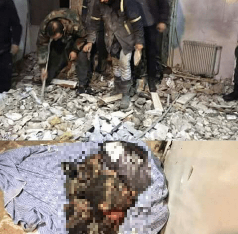 image-Damascus Police Station Child Suicide Bomber Blurred