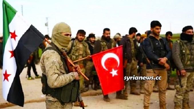 Turkish Erdogan Hamzat Terrorist Group - FSA - North Syria Afrin - Raqqa - Ras Al Ain - Hasakah - Aleppo - Idlib