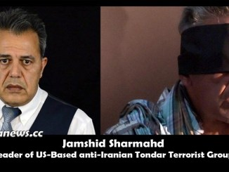 Jamshid Sharmahd Leader of US-Based anti-Iran Tondar Terrorist Group