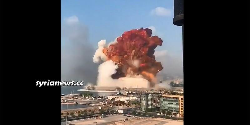 Beirut Harbor Explosion - Lebanon