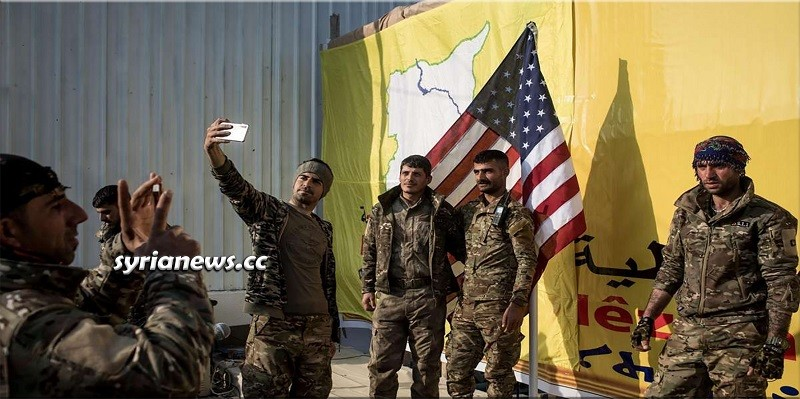 Separatist Kurdish SDF Militia work for the USA