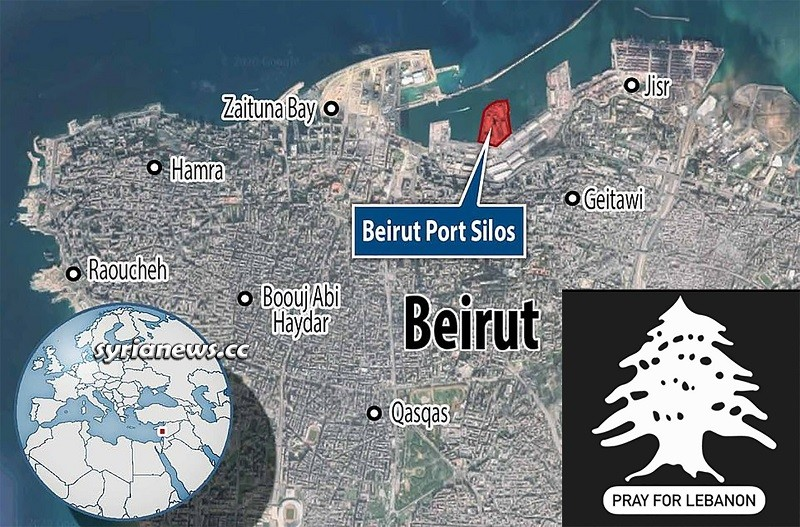 Pray for Lebanon - Beirut Blast - Beirut Port