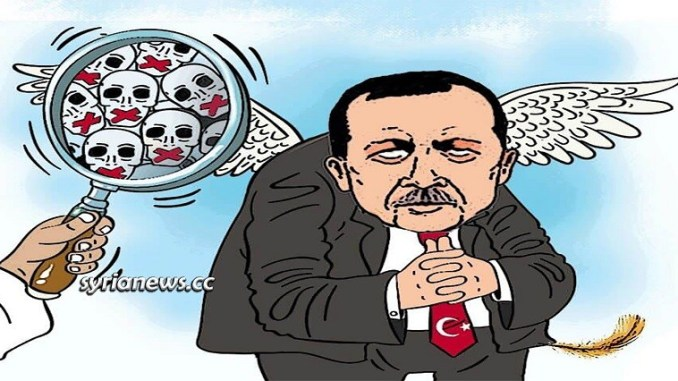 Erdogan the war criminal for Israel