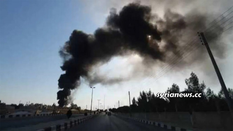 Tal Tamr electric power targeted - Hasakah Syria