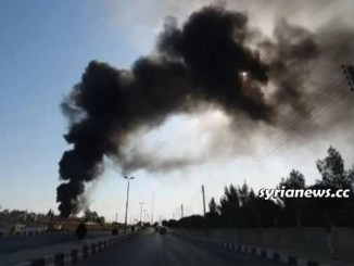 Tal Tamr electric power targeted - Hasakah Syria