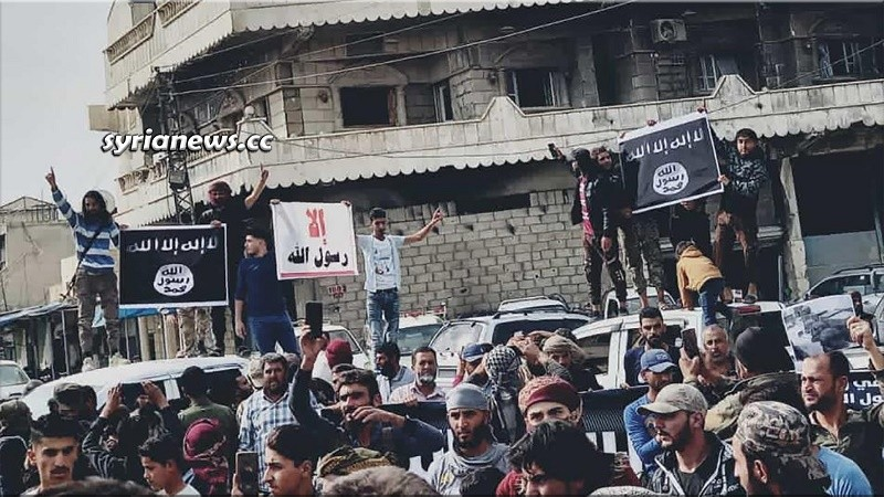 ISIS in Ras Al Ain north Syria again with Erdogan help