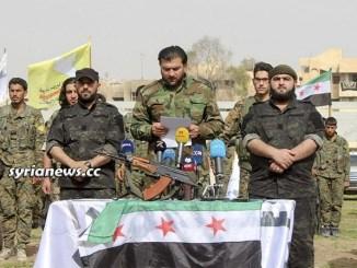 Kurdish SDF separatist militia with al Qaeda FSA terrorists
