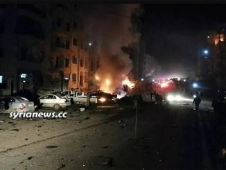 Salqin Idlib al Qaeda Levant Nusra Front HTS ammunition depot explosion