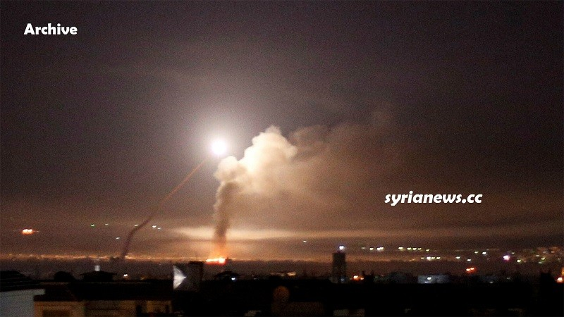 Israel bomb Syria - Archive Photo