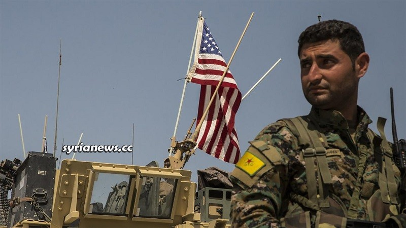 US sponsored Kurdish SDF separatist militia in northern Syria