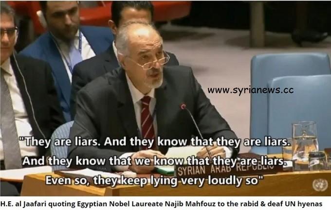Syria Ambassador Bashar Jaafari to the UNSC UNSC