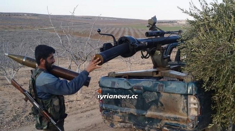 Idlib - Terrorist of US-sponsored Izzat Army
