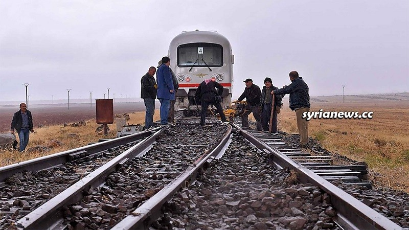 Syrian Railways Damascus - Aleppo Railway