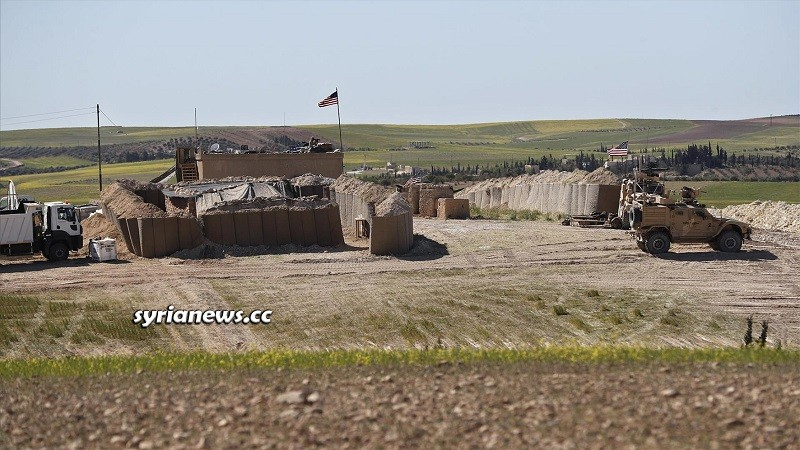 US illegal military base east of Syria, Raqqa, Deir Ezzor, Hasakah