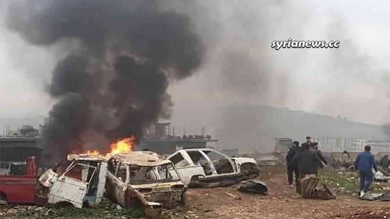 Afrin Car Explosion - Aleppo Terror Turkey Erdogan