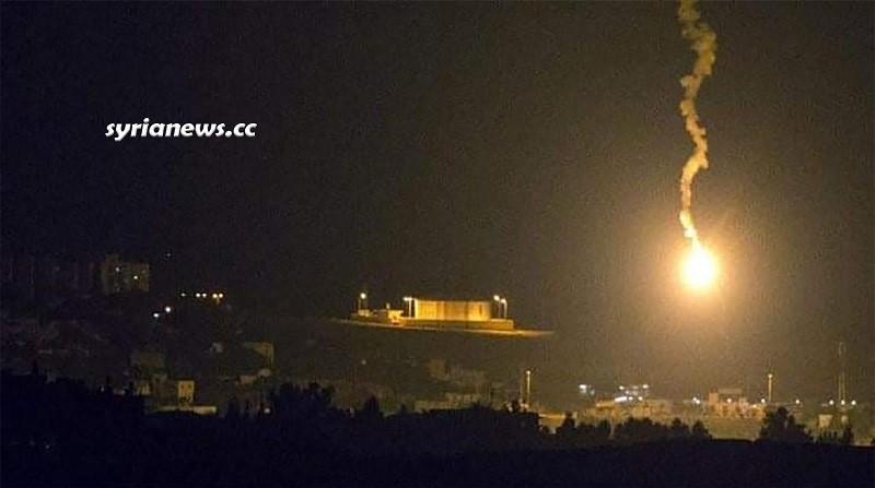 Israel bombs southern damascus on Orthodox Christmas eve