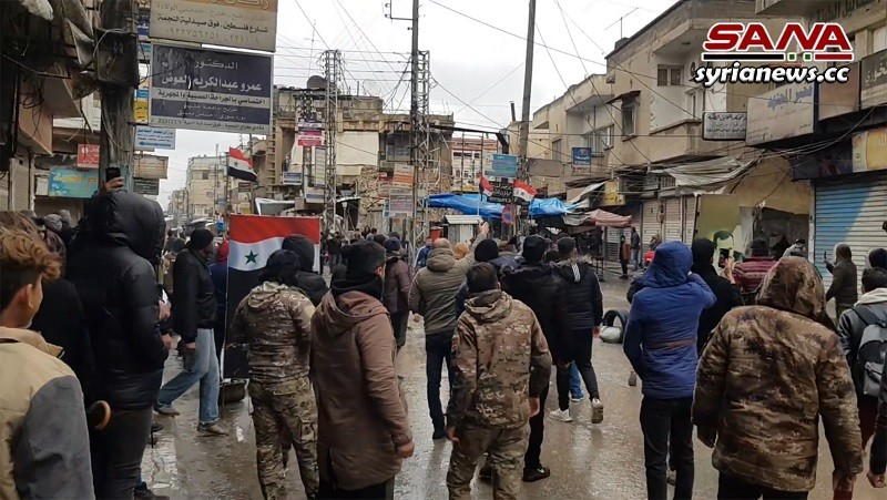 Kurdish SDF separatists kill a Syrian protester in Hasakah