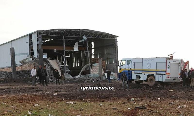 Car explosion in Al-Bab industrial city north Aleppo
