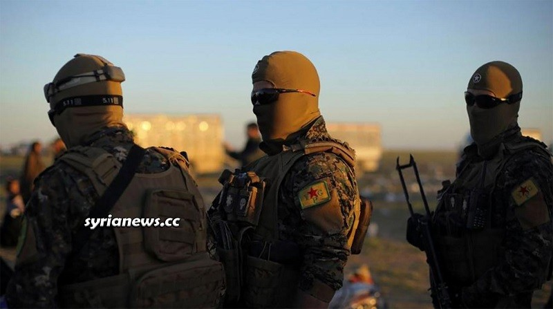 Kurdish SDF YPG armed groups north Syria - Hasakah Deir Ezzor Raqqa Aleppo