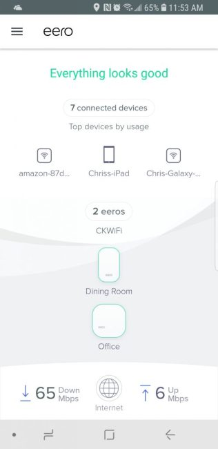 Eero App on Android