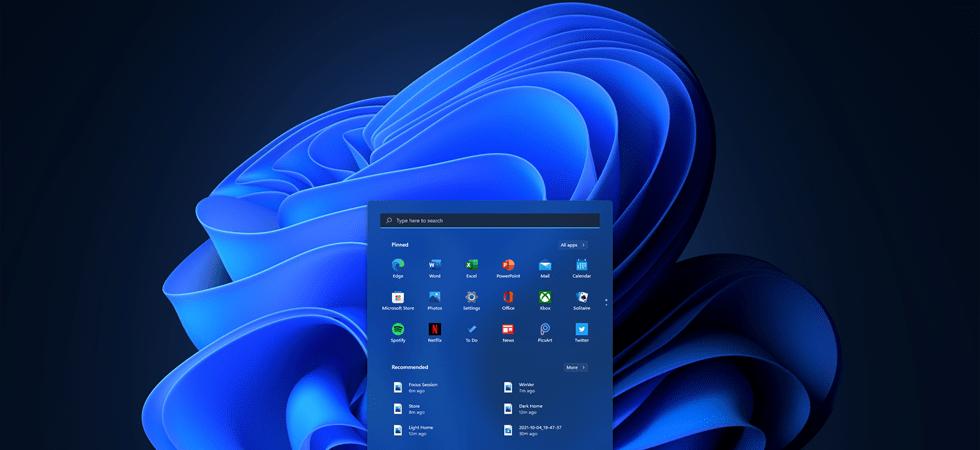 Windows 11 Dark Mode Start Menu