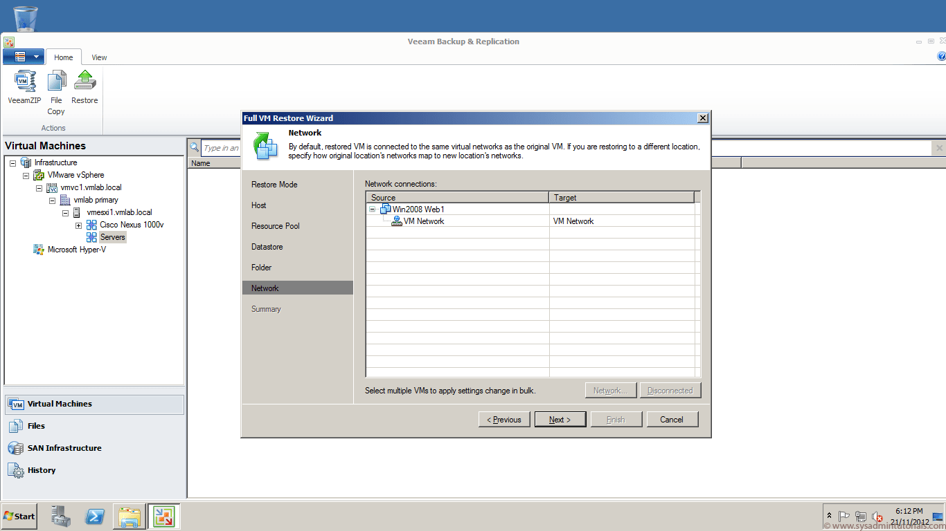 20 veeam backup recovery free Veeam Backup and Replication 6.5 Free Edition