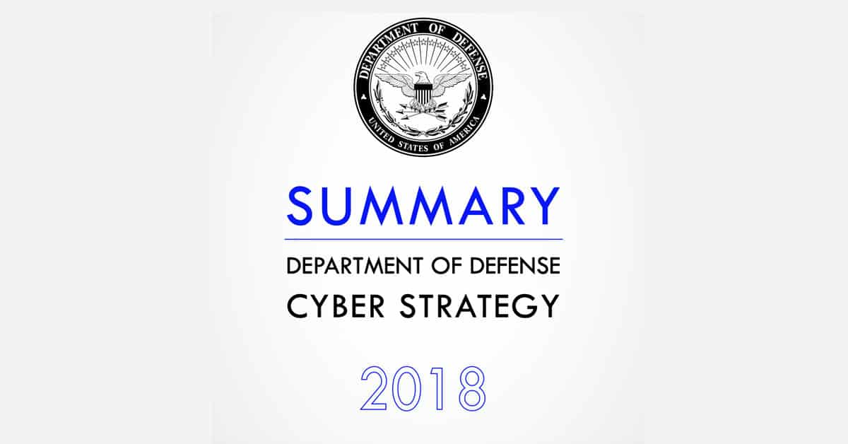 DoD 2018 Security Strategy: What it Means for DoD Contractors
