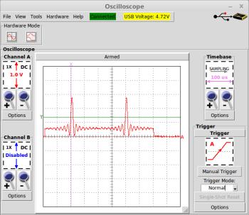 SINC Pulse Output