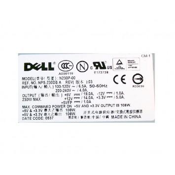 Dell 0P8407 P8407 N230P-00 230W POWER SUPPLY 3100 5100