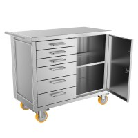 Mobile Secure Storage Cabinet