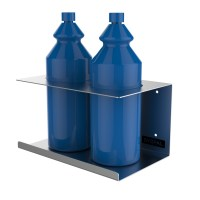 Stainless Steel Wall Mounted Bottle Holders | UK ...