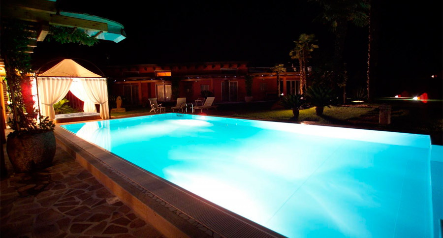 Lampade piscina led cromoterapia  SYS Piscine