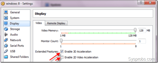 Install Windows 8 in VirtualBox